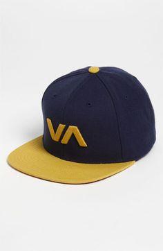 RVCA 'VA Starter' Snapback Baseball Cap available at #Nordstrom