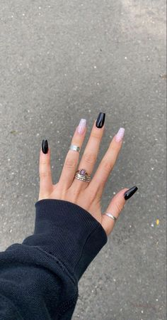 Acrylic Nails Coffin Short, Simple Acrylic Nails, Pink Acrylic Nails, Simple Nails, Gel Nails, Pastel Nails, Acrylic Nail Designs, Edgy Nails, Grunge Nails
