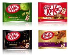 Great F/S Nestle Japanese Kit Kat Bag Green Tea, Premium hazelnut, Dark chocolate NEW