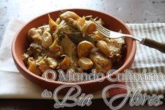 Frango com 40 dentes de alho – Poucet à quarant gousses d'ail | O Mundo Culinario de Bia Flores