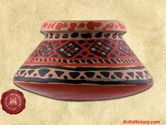 Inca Empire - Food Storage Vessel - - World History Projects