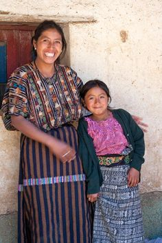 With fair trade, Mayan women can count on a regular income and send their daughters to school.  www.mayanhands.org