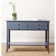 Shop for Abbyson 'Antoni' Antiqued Blue Console Sofa Table. Get free shipping at Overstock.com - Your Online Furniture Outlet Store! Get 5% in rewards with Club O!