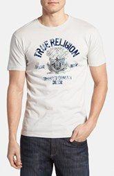 True Religion Brand Jeans 'College Crest' T-Shirt