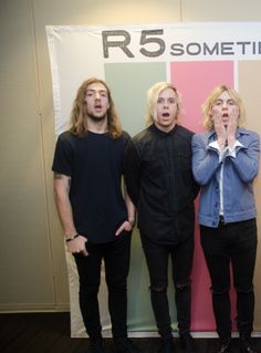 Rocky, Riker, and Ross