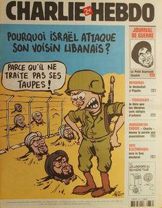 Charlie Hebdo - # 736 - 26 Juillet 2006 - Couverture : Riss