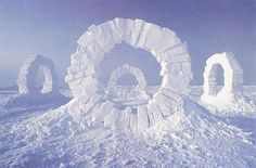 Andy Goldsworthy - Touching North - 1989