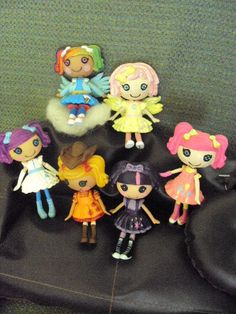 custom made for you mini lalaloopsy My Little Pony Frienship Is Magic by PhoenixWingCreations