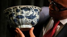 Ming bowl auctioned for US$29.5 million to go on display in Shanghai  2017-04-07 22:07 GMT+8