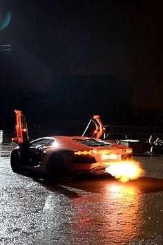 Lamborghini Aventador sports cars