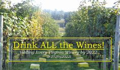 The Thrifty Gypsy's Travels : Visiting EVERY Winery in Virginia