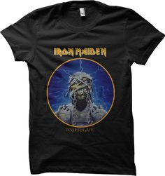 Iron Maiden Book of Souls Heavy Power Metal Licensed Tee T-Shirt Men