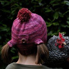 Daily Knitting Patterns: Urban Homesteader Hat