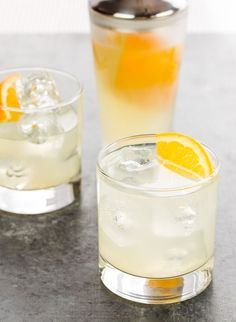 Looking for a simple batch cocktail? Citrus Gin Sodas made with fresh oranges and lemons are a refreshing twist to your ordinary gin cocktail!