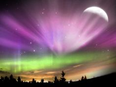 To see the Northern Lights
