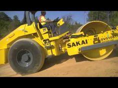 All New For 2013......The Sakai SV510ST-III Dirt Roller