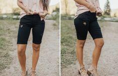 GroopDealz | Classic Motto Leggings - 6 Colors! Linen Bag, Linen Pants, Motto Leggings, Stretch Denim Fabric, Soft Shorts, Skinny Pants, Jeggings, Online Boutiques, Bermuda Shorts