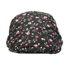 e74ab5fff61 Fasbys 2017 Trend Octagonal Hats for Women Newsboy Cap Girl Spring Summer  Beret Hat Bone Flower