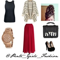 Untitled by pentegirlsfashion on Polyvore featuring Chicwish and Michael Kors
