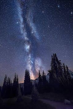 "e4rthy: "" Spires - Mount Rainier, Washington by Dave Morrow """