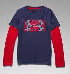 Boys' Waffle 2-in-1 T-Shirt