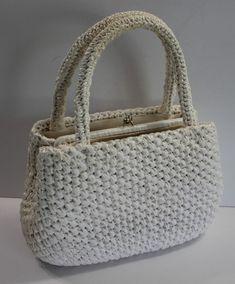 Vintage Purse White Woven Raffia Straw Japan  Unbranded  Purse Vintage  Items 99ecebe835492