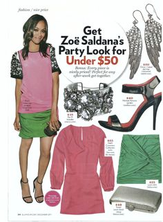 Glamour magazine - featuring c+i Pave Crystal Wing Earrings   http://chloeandisabel.com/products/E021/pave-crystal-wing-earrings