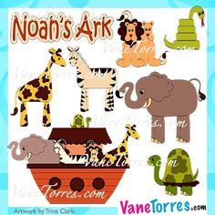 Lámina Arca de Noé