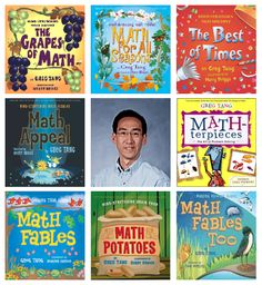 Just a quick post tonight to share a wonderful resource with you. You are probablyfamiliarwith the name Greg Tang from his best-selling math books, most notably The Grapes of Math. Or you might have seen him speak, as I have, at any one of a number of national conferences. So how exciting is it that …