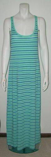 Striped Maxi Dress. Sizes small, medium and large.