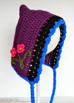 Princess Anna Bonnet Crochet Pattern