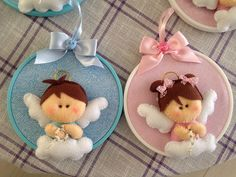 Angelitos!!! felt