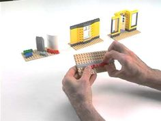 LEGO® Creator Designer Tips -- How to build angled walls - YouTube