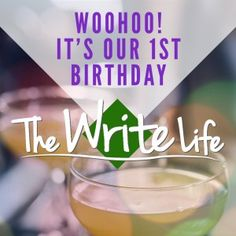 It's #thewritelife 's first birthday! Won't you celebrate with us? http://thewritelife.com/the-write-life-turns-one/