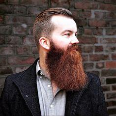 Epic Beard, Full Beard, Hairy Men, Bearded Men, Ginger Beard, Beard Styles, Moustache, Auburn, Mirrored Sunglasses