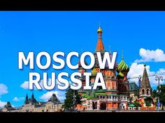 MOSCOW, RUSSIA. HISTORY, TOURISM, ECONOMY, SPORTS etc Moscow Russia, Tourism, History, Sports, Youtube, Travel, Turismo, Hs Sports, Historia