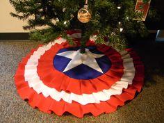 Captain America Tree Skirt