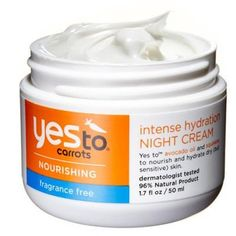 Best night cream: Yes to Carrots Intense Hydration, $13