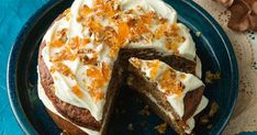Give your pumpkin cake some spice with ginger and cinnamon, then top it with pecans and a gorgeous cream cheese icing. This easy baking recipe is perfect when you need to provide a different morning tea dish.