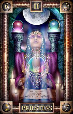 | ... look at The   Tarot card – #2 card of the Major Arcana
