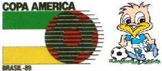 Logotipo Copa América 1989