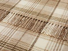 Shetland Natural Huntingtower Throw