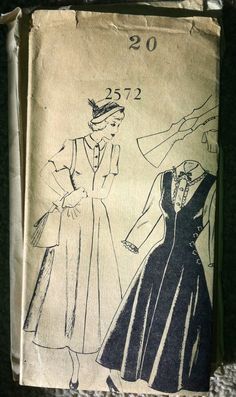1948 Mail Order Women's Jumper Pattern  Bust 38  by backroomfinds, $13.95