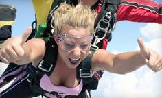 Groupon - $165 for a Tandem Skydiving Jump at Sportations (Up to $299.99 Value) in Salado. Groupon deal price: $165.00