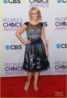 julianne hough pca 2013 in Tony Ward dress...