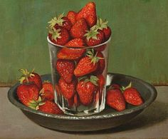 Strawberries by Gerard Victor Alphons Röling