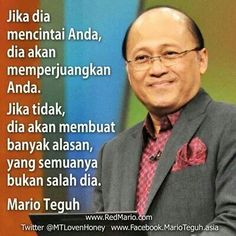 120 best mario teguh golden ways images on pinterest mario doa if he really loves you reheart Choice Image