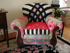 Festive Fibers: Gallery: Chairs