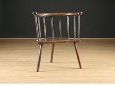 18th Century Welsh Elm stick chair