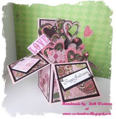 Anniversary Pop-Up Box Card by eastunders - Cards and Paper Crafts at Splitcoaststampers